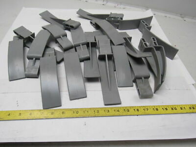 Siemens Dematic 06881-20015 Flared Molded Plastic End Adapter Lot Of 20
