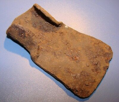 Ancient tool for wood processing. Iron. ORIGINAL