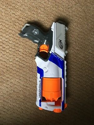 Nerf Elite N Strike Strongarm Blaster Gun Dart Toy Colors May Vary Soft Fire