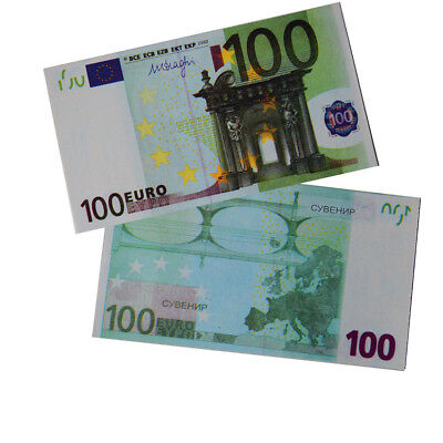 20pcs Souvenir Collectible €100 Euro Bank Note Bill Joke Uncirculated