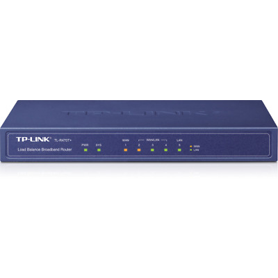 TP-LINK TL-R470T+ TL-R470T+ wired router Ethernet LAN Blue Load Balance