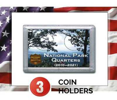 Frosty Case National Park Rock /& Eagle 2 Hole 2x3 no coins