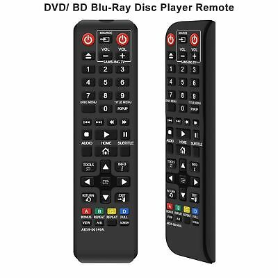 New Samsung Replacement Remote For Samsung Blu-Ray DVD Player AK59-00149A US