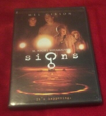 Signs Dvd Case Only No Disc