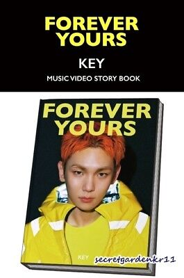 KEY [ FOREVER YOURS ] Music Video STORY BOOK + STANDEE + 2Gift New Sealed SHINee