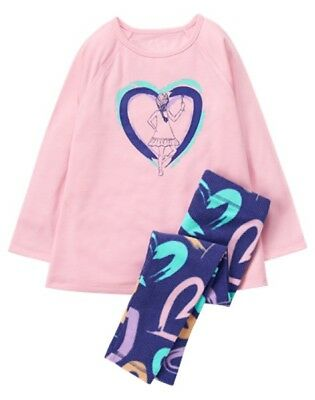 NWT Gymboree Girls Painter Pajama Set many sizes