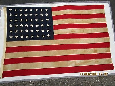 WWII PT Boat Flag from ELCO Bayonne New Jersey Authenticated Documented EC RARE