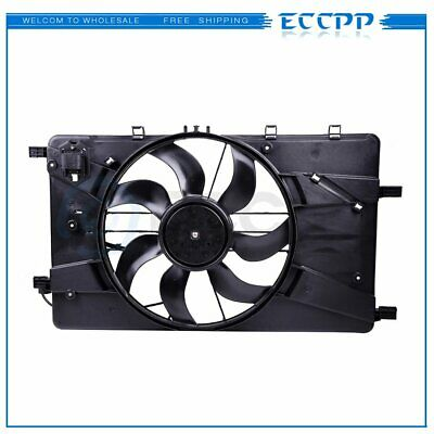 Radiator AC Condenser Cooling Fan Fits for 2010-2017 Chevrolet Equinox 2.4L l4
