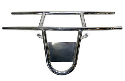 EZGO RXV Stainless Steel Golf Cart Front Brush Guard by RHOX (2016+)