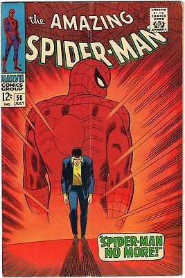 Amazing Spider-Man #50 5.0 VG/F 1st app of The Kingpin Romita Silver Classic