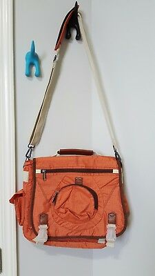 RBX Target, Messenger Style diaper bag Orange Perfect Condition, Dad Bag, Modern