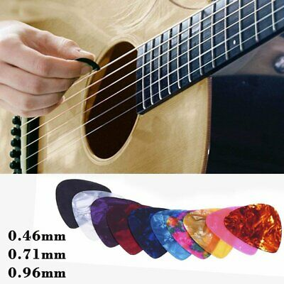 Fender Guitar NYLON Picks Plectrums Acoustic Bass Electric Plectrum Pick Gauges