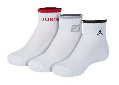 b06ae9d6da3de NIKE YOUTH BOYS 3Y-5Y Air Jordan Jumpman 23 3 Pack Crew Socks ...