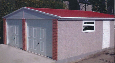 Concrete Garages Apex Elite- London Prices Including Installation -  16'5 Wide *