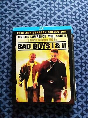 Bad Boys / Bad Boys II (Blu-ray Disc, 2015, 2-Disc Set