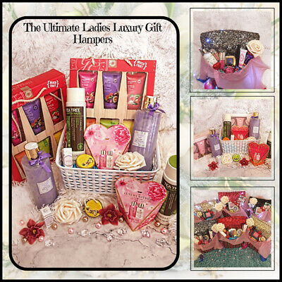 MOTHERS DAY GIFT Pamper Hamper Mum Birthday Makeup Cosmetic Luxury