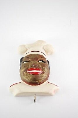 Black Americana African American Uncle Mose Plaster Wall Hanger (Aunt Jamima)