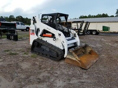 2012 Bobcat T190 Skid Steer On Tracks, Kubota Diesel, A/c And Heat, Serviced!