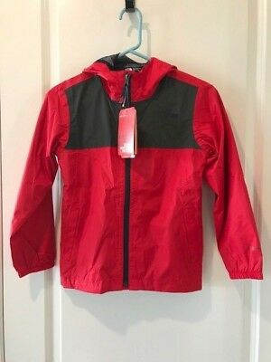 367a6668b343 THE NORTH FACE Boys Warm Storm Rain Jacket TNF Black NWT MSRP  90.00 ...
