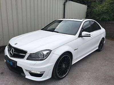 2014 63 Mercedes-Benz C63 Amg Mct *high Spec* *1 Owner* *sunroof* *low Miles*