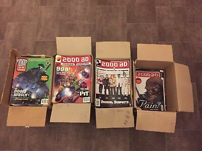 2000 AD Comic Collection
