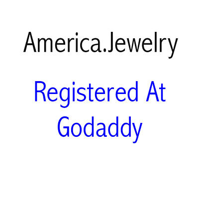 www.America.Jewelry Premium Domain Name For Sale