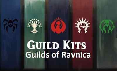 MTG Magic the Gathering Guilds of Ravnica Guild Kit Mix C/U/R/M. Unplayed