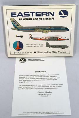 2003 Eastern An Airline & Its Aircraft R.davies 1St Ed.hardcover Book/dust Cover