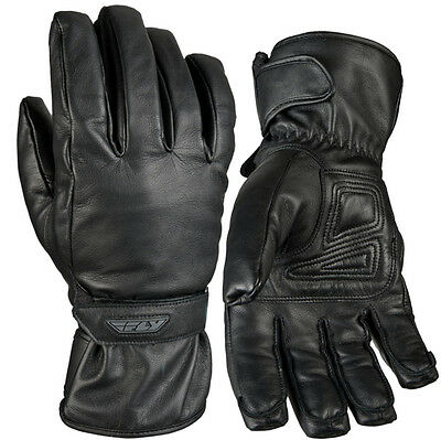 Fly Racing Rumble CW Leather Cold Weather Mens Snowmobile Glove