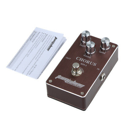 Aroma ACH-1 Electric Guitar Chorus Effect Pedal Low Noise High Quality F0Y0