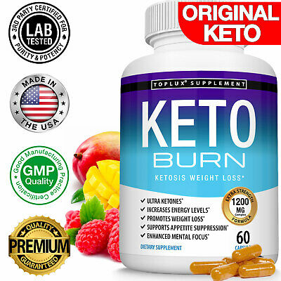 ☀Keto Diet Burn Pills Ultra 1200 MG Ketosis Advanced Best Weight Loss Supplement