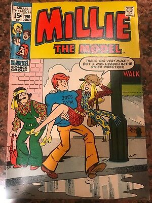 Millie the Model #190 in Fine condition. Marvel comics