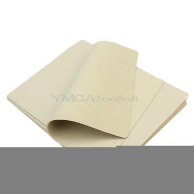 10pcs Blank Tattoo Learning Practice Fake Skin Sheets For Needle Machine Supply