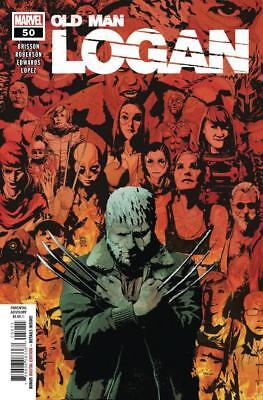 OLD MAN LOGAN #50 Main FN/VF (Marvel Comics, 2018) New 1st Print Final Issue!