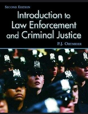 Introduction to law enforcement and criminal justice student.