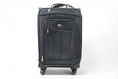 American Tourister Zoom 21 Spinner Carry-On Luggage, Blac 92406-1041 - Preowned