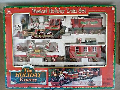 Vintage Animated The Holiday Express – Musical Holiday Train Set (1996)