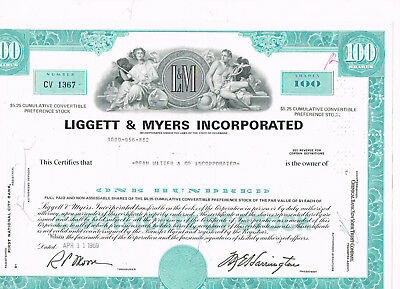 Liggett & Meyers Incorporated, 1969, turquois, VF