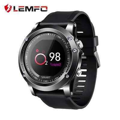 LEMFO T2 Bluetooth Smart Watch Phone Waterproof 2018 Man Watch For Android iOS