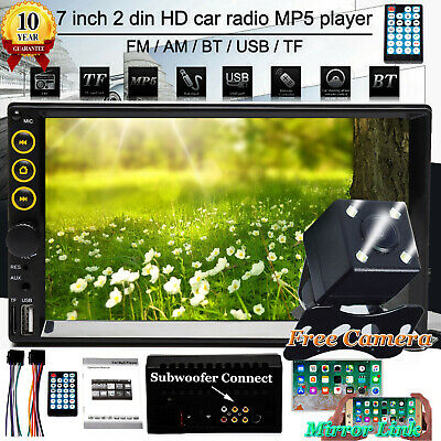 For Ford Transit/Galaxy/Focus 2 DIN Car Radio Stereo Bluetooth MP5 Player+Camera