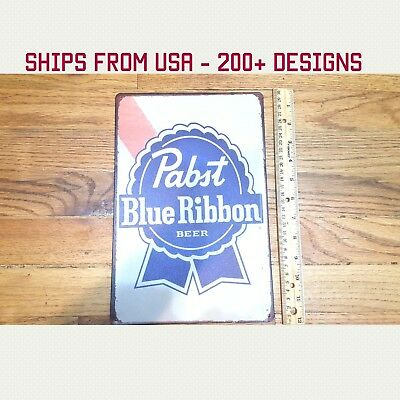 Pabst Blue Ribbon Beer Sign PBR Sign PBR Beer Sign PBR Metal Sign PBR Gifts Gift