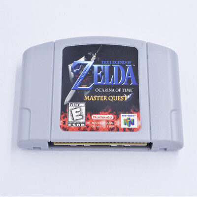 For N64 game Legend of Zelda Ocarina of Time MASTER QUEST Fast/Free Shipping NEW