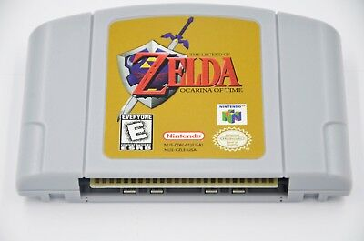 Fit For Legend of Zelda : Ocarina of Time N64 Fast/Free Shipping*!! Fit For N64