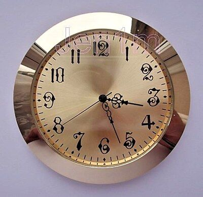 """65mm fit 61mm or 2, 3/8"""" hole/ Clock /Watch Insert free spare battery"""