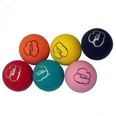 SKY BOUNCE - Rubber Ball Assorted Colors - 1 Ball
