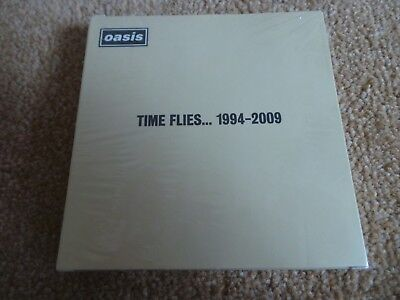 OASIS - Time Flies...1994-2009 Postcard Set(UK 2010 SEALED 26 POSTCARD SET!!!)