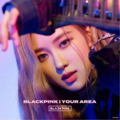 New BLACKPINK IN YOUR AREA First Limited Edition ROSE Ver. CD Sticker Japan