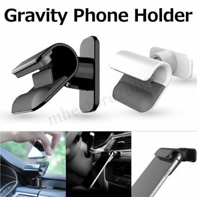 New Interior Gravity Car Phone Holder 4 – 7 Inch Mounts Stand For iPhone Samsung