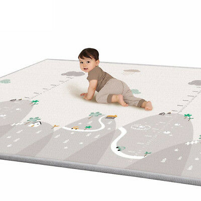 Baby Game Play Crawling Cotton Mat Soft Kids Rug Carpet Blanket Playmat 2*1.8cm