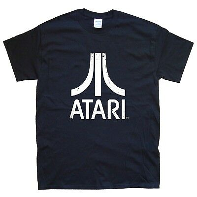 ATARI NEW T-SHIRT in 15 Colours NEW sizes S M L XL XXL